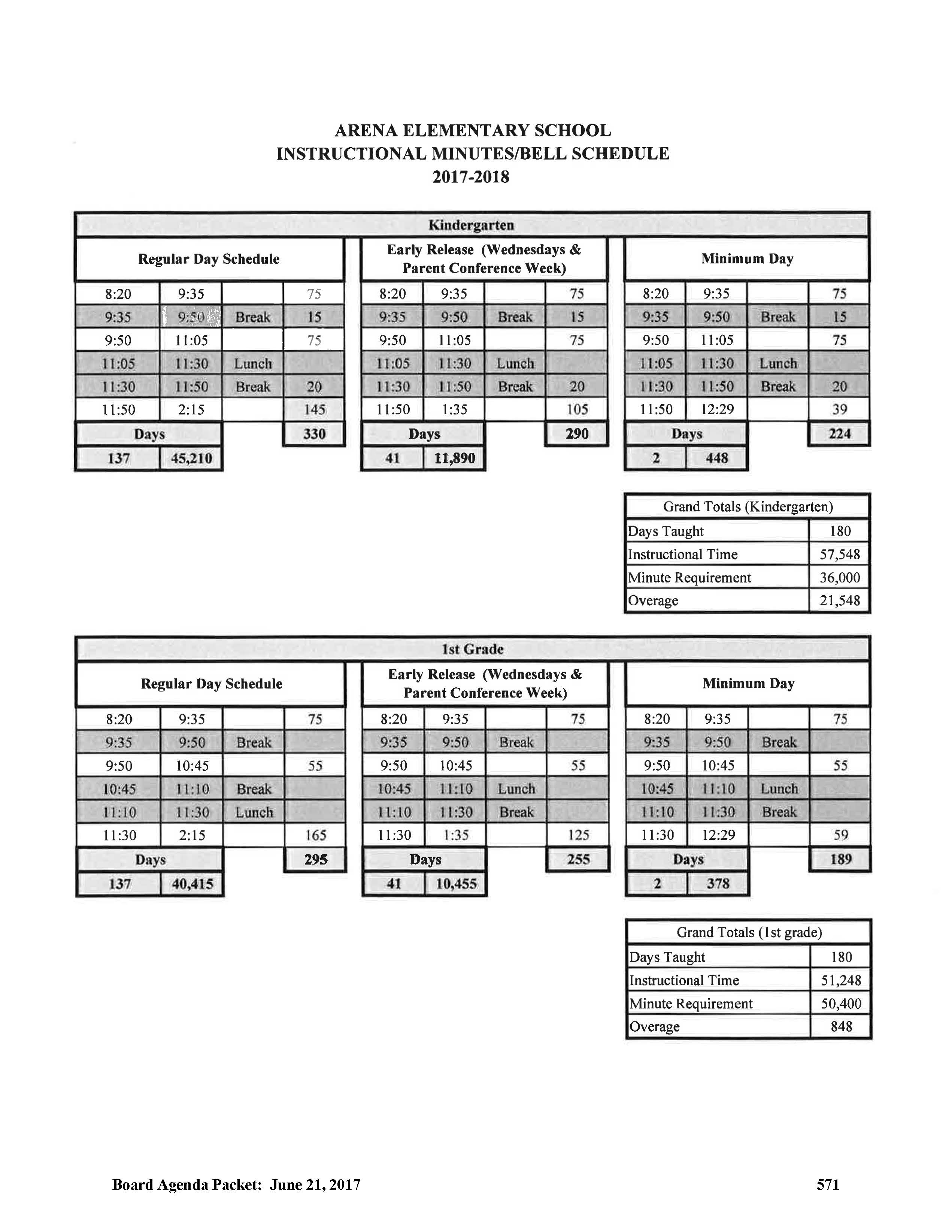 Arena Bell Schedule_Page_1
