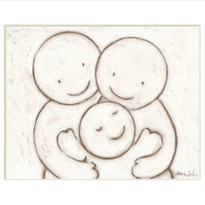 parents-with-child-hugs-art-original-artwork-1