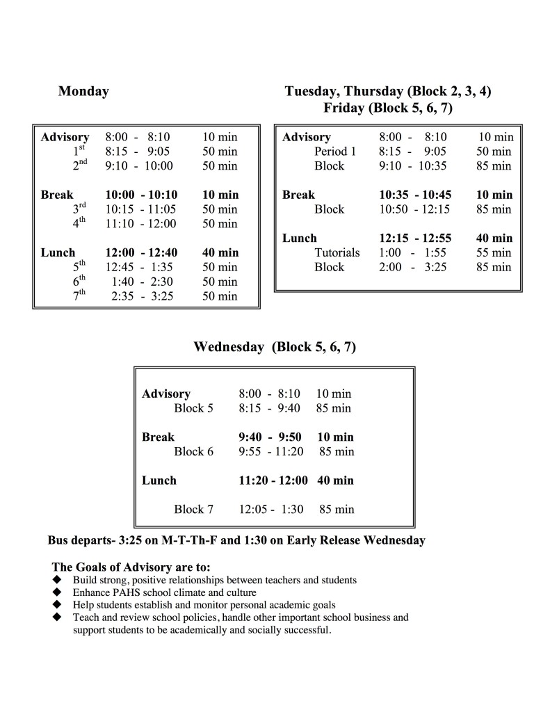 Bell Sched 16-17