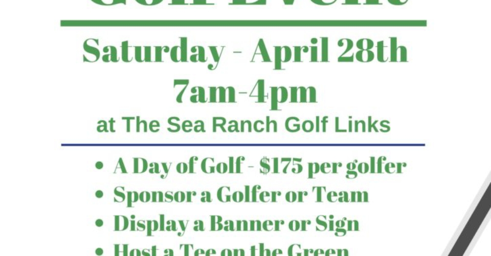 Golf Tourney is Coming