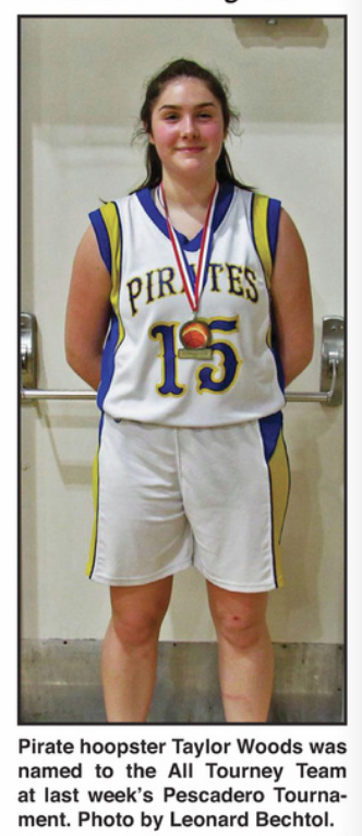 all tourney team Lady hoopster
